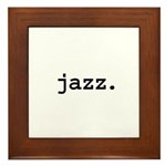 jazz. Framed Tile