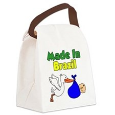 Made In Brazil Boy Canvas Lunch Bag