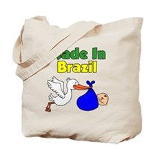 Made In Brazil Boy Tote Bag