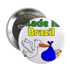 "Made In Brazil Boy 2.25"" Button"