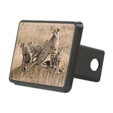 Cheetah and cubs5 -large Hitch Cover