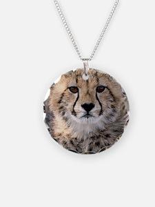 Cheetah Cub4-1large Necklace