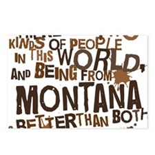 montana_brown Postcards (Package of 8)