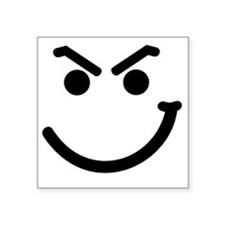 "HANDSMIRK Square Sticker 3"" x 3"""