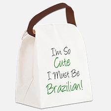 Im So Cute Brazilian Canvas Lunch Bag