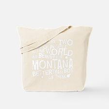 montana_white Tote Bag