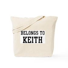 Belongs to Keith Tote Bag