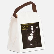 A Gentleman Canvas Lunch Bag