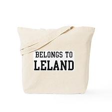Belongs to Leland Tote Bag