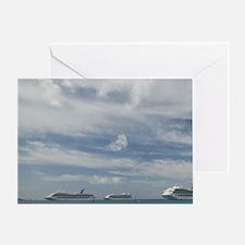 CAYMAN ISLANDS, GRAND CAYMAN, George Greeting Card