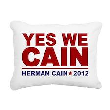 yes we cain Rectangular Canvas Pillow