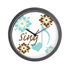 sing3 Wall Clock