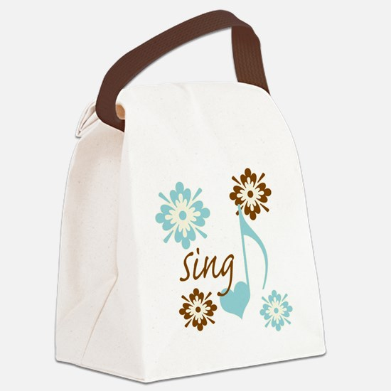 sing3 Canvas Lunch Bag