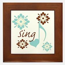 sing3 Framed Tile