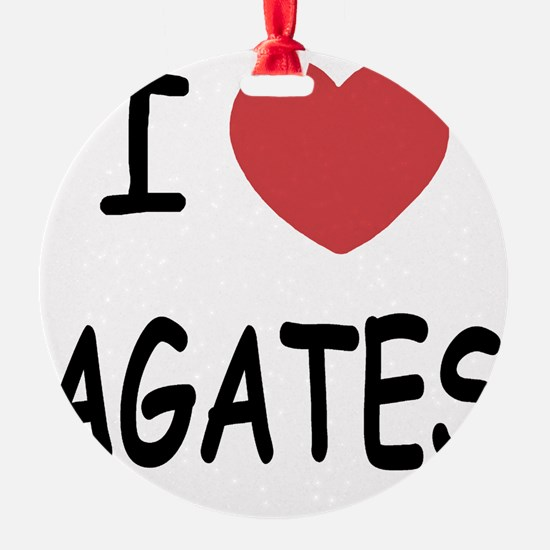AGATES Ornament