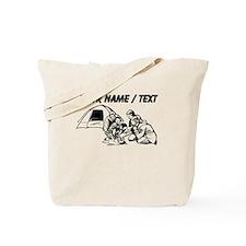 Custom Family Camping Tote Bag