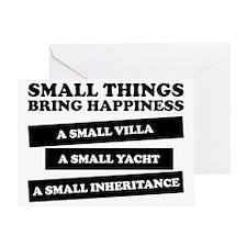 small things Greeting Card