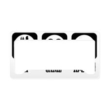 Eat Game Reload License Plate Holder