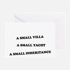 small things wh Greeting Card