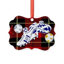 Scotland Football Wallace Tartan  Ornament