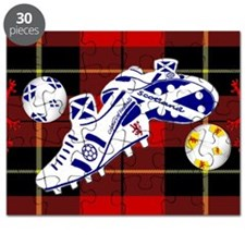 Scotland Football Wallace Tartan 20x12 Puzzle