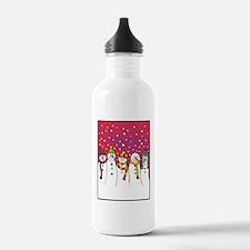 snowmen x5 ipad Water Bottle