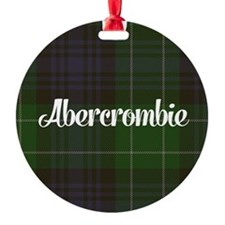 Abercrombie Tartan Ornament