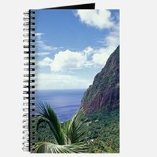 View of the Pitons from Ladera Resorte Pit Journal