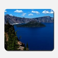 (15) Crater Lake  Wizard Island Mousepad