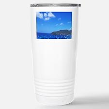 Colorful Admiralty Bay harbor P Travel Mug