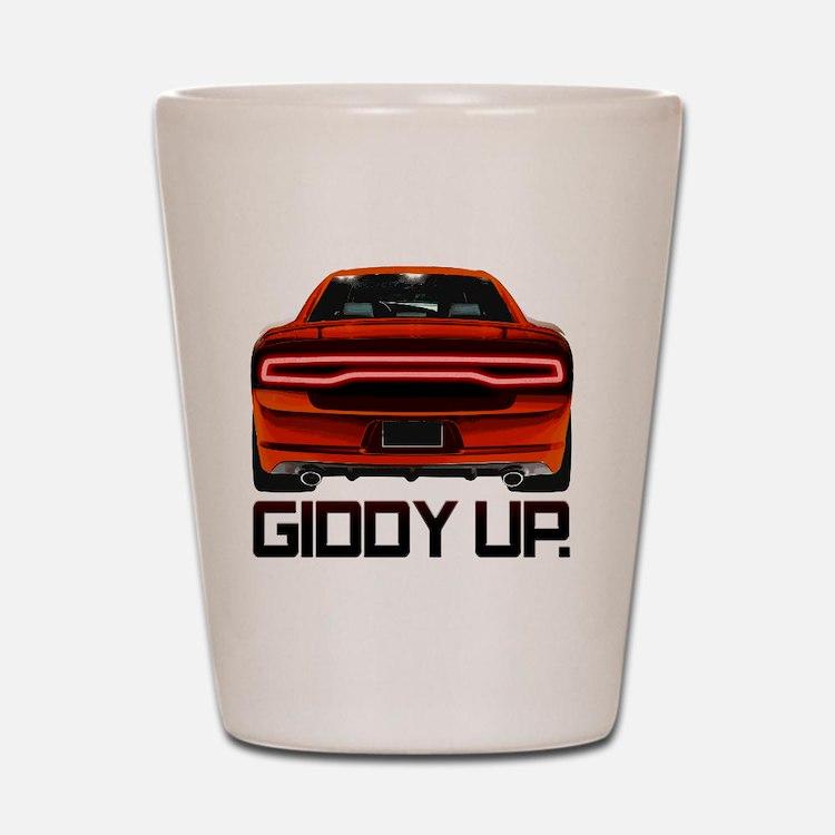 Charger GiddyUp Shot Glass
