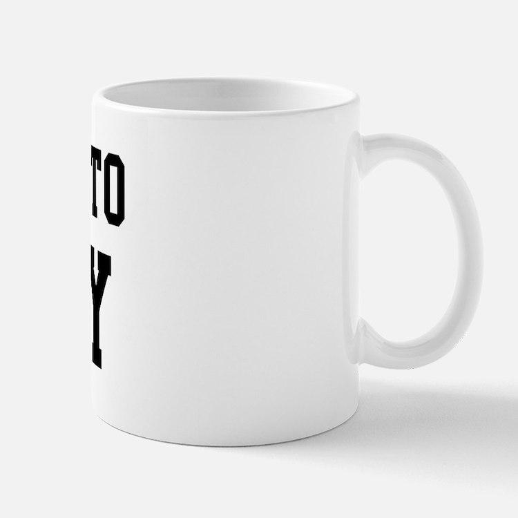 Belongs to Mikey Mug