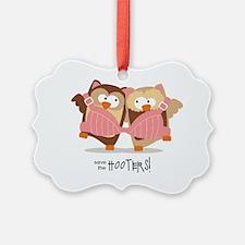 2SavetheHooters Ornament