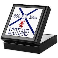 Scotland 500 miles Keepsake Box