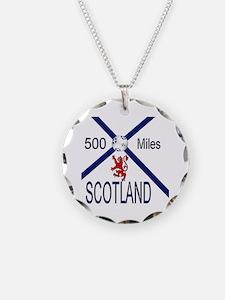 Scotland 500 miles Necklace
