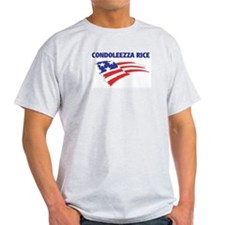 Fun Flag: CONDOLEEZZA RICE T-Shirt