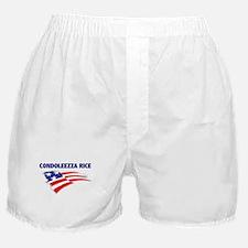 Fun Flag: CONDOLEEZZA RICE Boxer Shorts