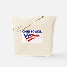 Fun Flag: COLIN POWELL Tote Bag