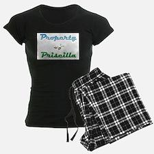 Property Of Priscilla Female pajamas