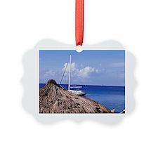 Caribbean, BWI, St. Lucia, Anse C Ornament