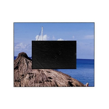 Caribbean, BWI, St. Lucia, Anse Chas Picture Frame