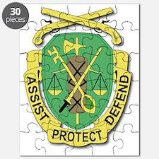 DUI-35TH MILITARY POLICE DETACHEMENT- Puzzle