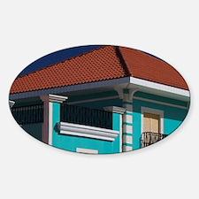 Building detail Sticker (Oval)