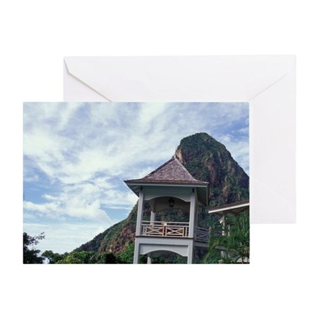Caribbean, BWI, St. Lucia, the Beau Greeting Card