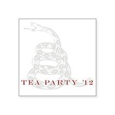 "teaparty Square Sticker 3"" x 3"""