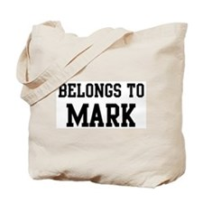 Belongs to Mark Tote Bag