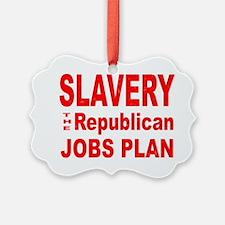 Slavery Ornament