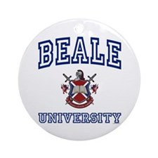 BEALE University Ornament (Round)