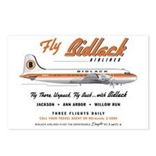 Fly Bidlack big Square la Postcards (Package of 8)