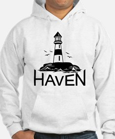 Unofficial Haven Logo White Hoodie